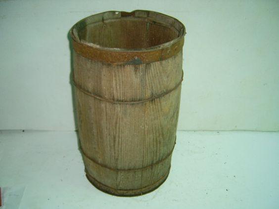 wood  nail keg by greilstreasures on Etsy, $32.00