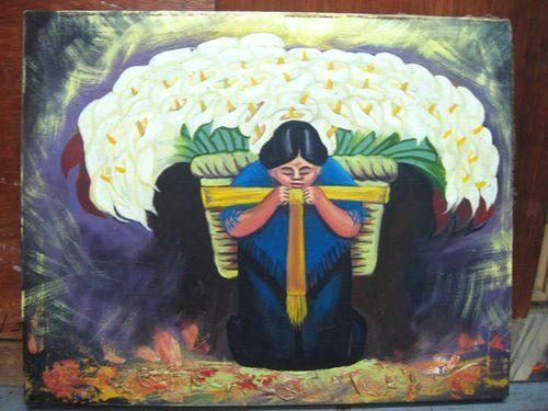 """Diego Rivera's """" El Vendedor"""""""