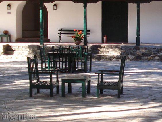 Patio Hacienda Isasmendi, Molinos, Salta