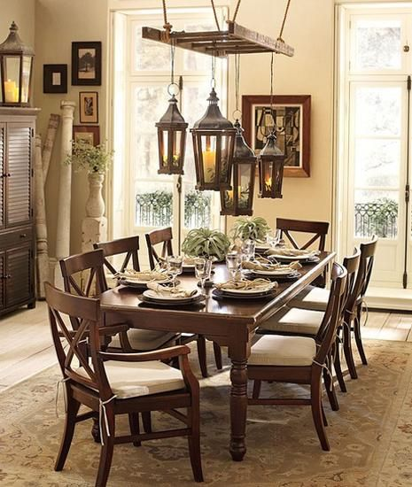dining furniture, wall decoration ideas and modern lighting fixtures