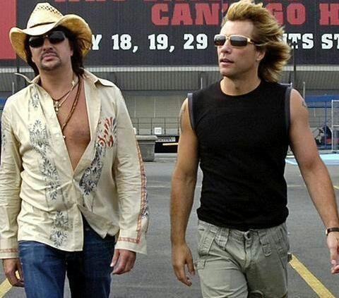 Richie Sambora and Jon Bon Jovi - 2005