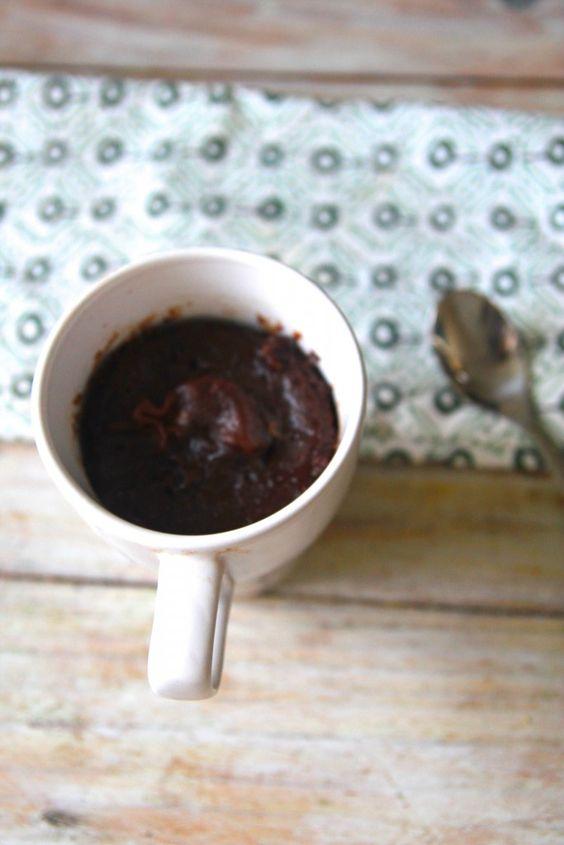 recette mug cake express 5 minutes micro ondes