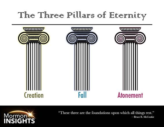 "God has an eternal plan for us. Elder Bruce R. McConkie teaches us about the ""three pillars of eternity"" and how they shape that eternal plan.:"