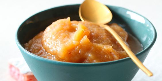 Compote pomme, poire et rhubarbe