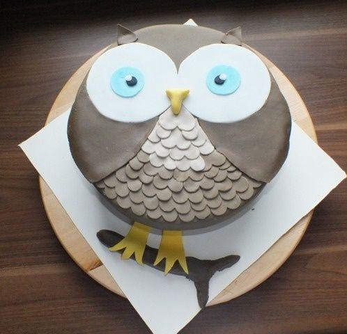 Little Owls Pie Kids Cakes Kuchen Kindergeburtstag Eulentorte Kinder Kuchen