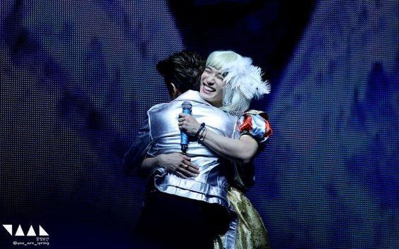 Hyunsik and Minhyuk ❤