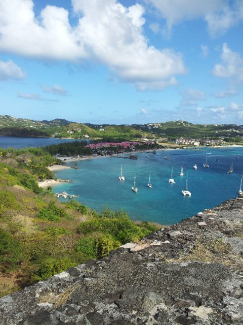 View from Pigeon Island, Rodney Bay, St Lucia,