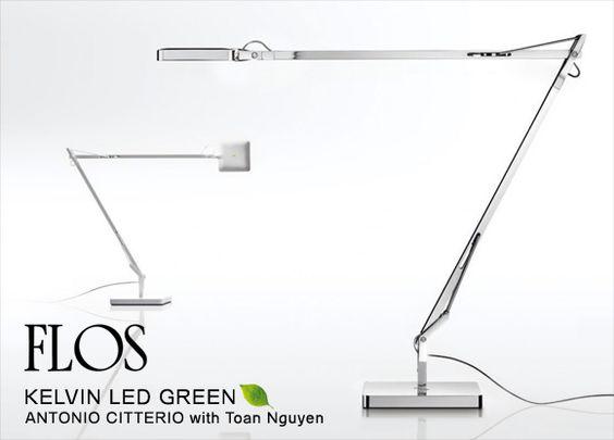 ヤマギワオンラインストア | タスクライト | FLOS(フロス)「KELVIN LED GREEN」ブラック[756KELVINLED GREENGREEN/BLK]