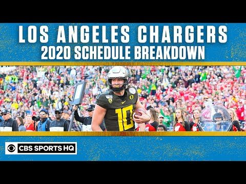 The Los Angeles Chargers Look To Build On Their New Qb And New Stadium In 2020 Cbs Sports Hq With The Schedule Reveal In 2020 Cbs Sports Sports Los Angeles Chargers