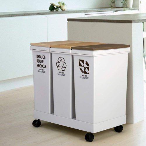 おしゃれなキッチンダストボックス22選 分別におすすめ Recycling Bins Kitchen Recycling Recycling Bins