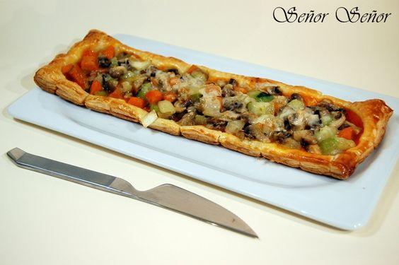 Hojaldre de verduras | Receta de Sergio