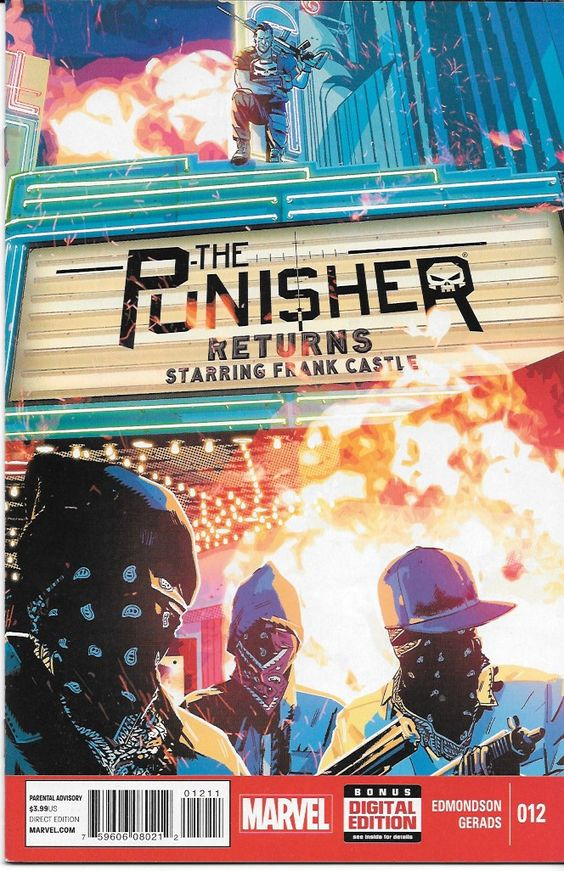 Punisher # 12 Marvel Now !