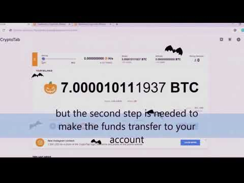 Free Bitcoin Cryptotab Hack Script 2020 14 Btc Review Script Bitcoin Youtube