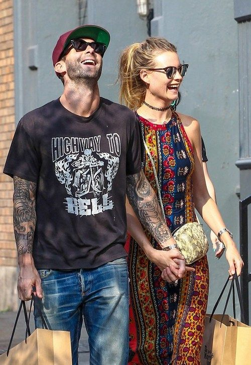 Adam Levine Fashion October 2017