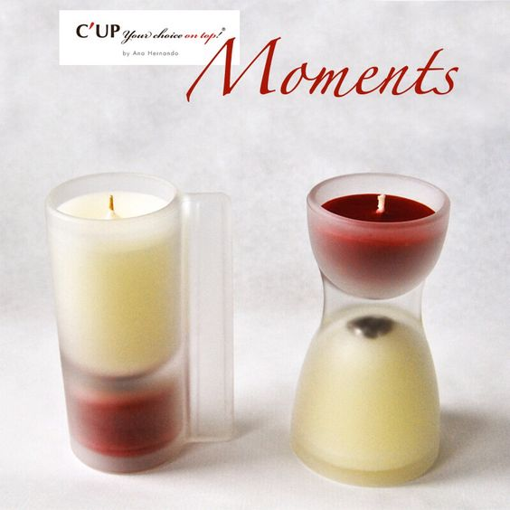 Nueva línea de velas C'UP MOMENTS  New beatiful candles from C'UP  yourchoiceontop.com/shop/es #candles #home #design