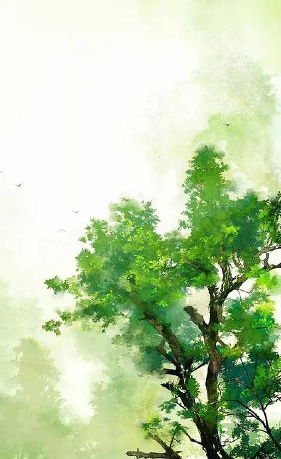 Contoh Gambar Pemandangan Alam yang Mudah Ditiru 21