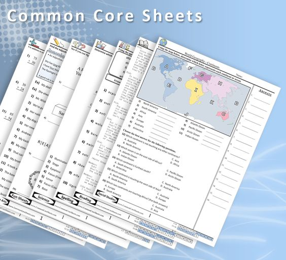 Common core language arts worksheets 5th grade