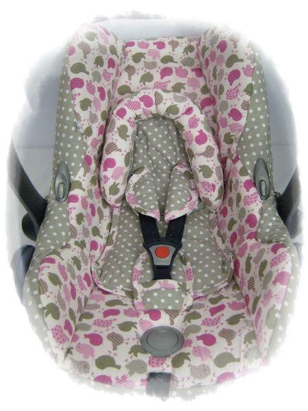Ersatzbezug CabrioCabriofix Babyschale von me-ersatzbezuege auf DaWanda.com