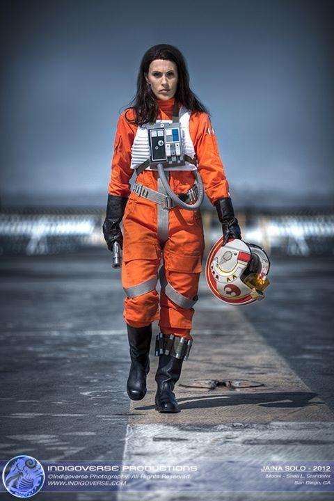 Jaina Solo (X,Wing Pilot), Cosplay by Shea Standefercosplayparadise.net