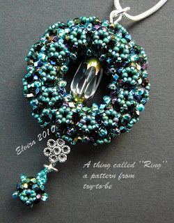 "maybe-beads: MY thing called ""Ring"""