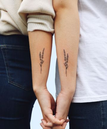 BFF Tattoos: Sprigs of Lavender