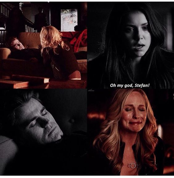 Oh my God. This scene was so heartbreaking I cried so damn much #thevampirediaries