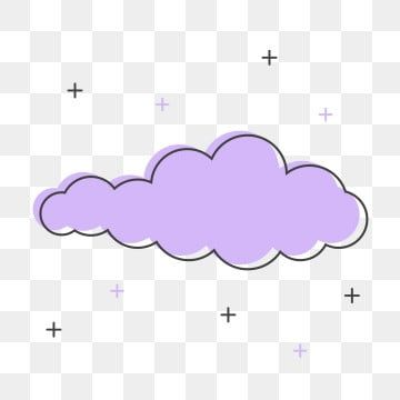 Violet Cute Cloud Clipart Violet Cute Cloud Png And Vector With Transparent Background For Free Download In 2020 Clip Art Free Clip Art Clouds