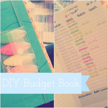 DIY: Personal Budget Book | Do it yourself | Pinterest | DIY ...