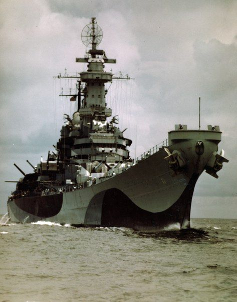 "bmashina: ""  the battleship Missouri,August 1944 "":"