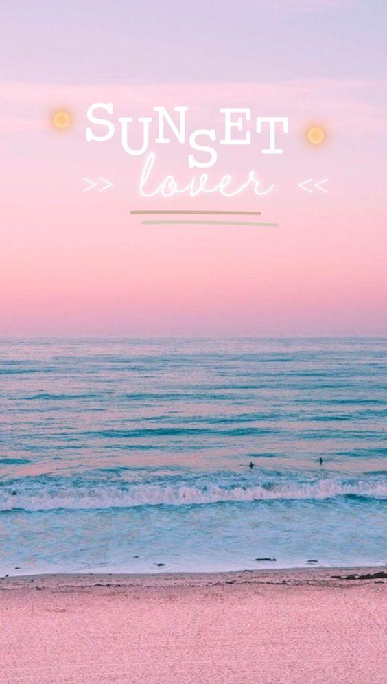 Hiiii Cute Wallpapers Sunset Lover Beach