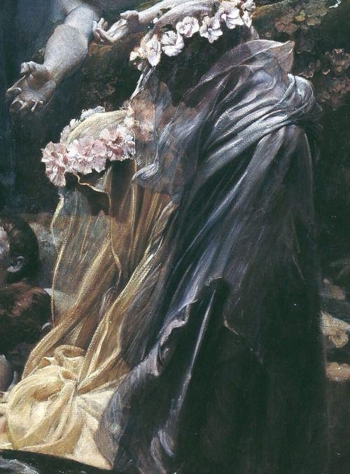 The Souls Of Acheron : souls, acheron, Adolf, Hirémy-Hirschl,, Detail,, Souls, Acheron,, 1898,, Österreichische, Galerie, Belvedere,, Vienna,, Austria, Classical, Painting