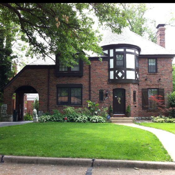 Impressive Tudor Style Home In Pasadena Hills, MO. Built