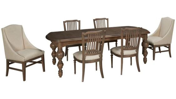 Universal Furniture-Great Rooms-Great Rooms 7 Piece Dining Set - Jordan's Furniture