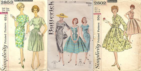 Boutique patrons couture vintage studioGpatterns