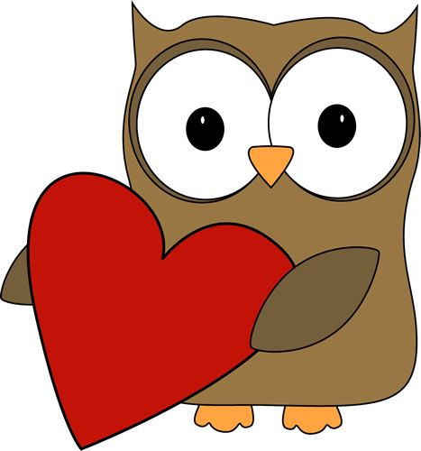 Clip Art Valentine Hearts Clip Art valentine winter clipart big heart clip art owl with a