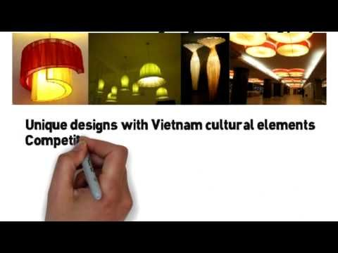 + Lamps, lampshades, table lamps, floor lamps, pendants, wall lamps + Silk lotus lamp, silk lantern, Hoi An lantern, paper lantern, tealight + Tailor made for hotel and resort project + OEM and custom made lighting for marketing project. + Unique designs with Vietnam cultural elements + Competitve price with skillful and experienced workers at Vietnam cost  www.denxinh.com