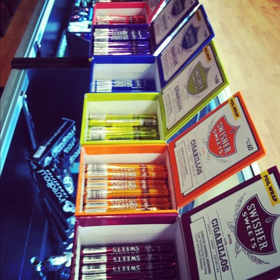 Another beautiful Swisher Sweets display! #swishersweets #swishersmokes #swisher #sweets #smoke #display
