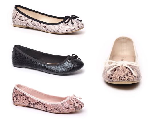 Rattle Ballet Flats from Number One Shoes