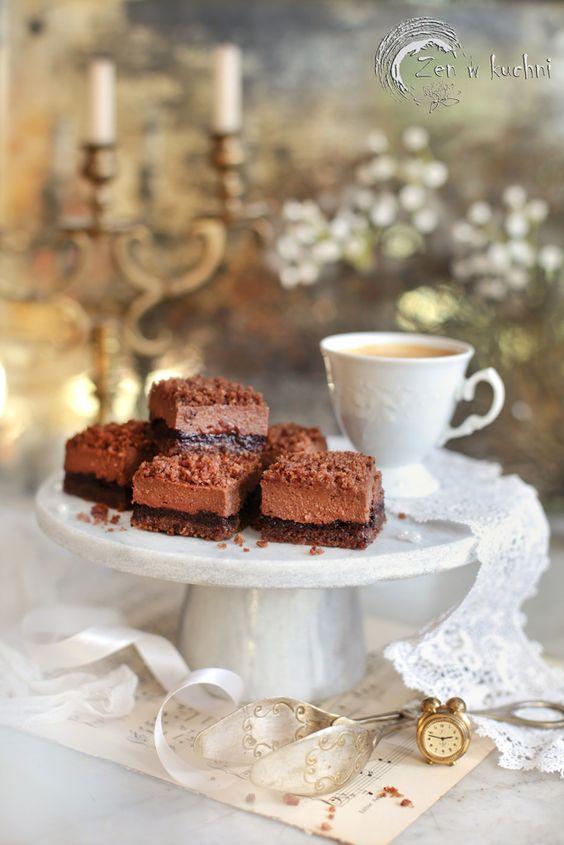 Ciasto Z Kremem Czekoladowym Bez Maki I Mleka Zen W Kuchni Recipe In 2020 Gluten Free Baking Food Baking