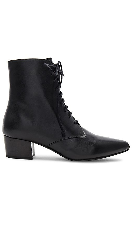 Shop For The Archive Barrow Boot In Black Leather At Revolve Free 2 3 Day Shipping And Returns 30 Day Price Match Guarantee Boots Black Leather Witch Shoes