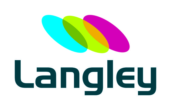 Funky logo design for construction and management company, Langley. #logo #design