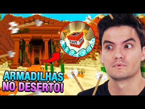 Invadi Um Castelo Com Armadilhas No Minecraft 9 Youtube Minecraft 9 Felipe Neto Fotos Do Felipe Neto