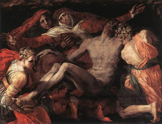 $584, Pieta,  Artist: Rosso Fiorentino