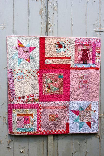 munki quilt by One ShaBby ChiCk, via Flickr