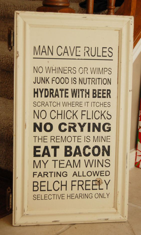 Man Cave Rules Sign Australia : Man cave vintage cabinet and caves on pinterest