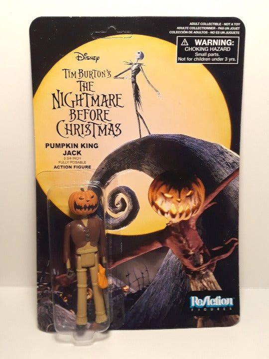 Jack Skellington ReAction Figure Set 3 NIGHTMARE BEFORE CHRISTMAS Funko #NEW