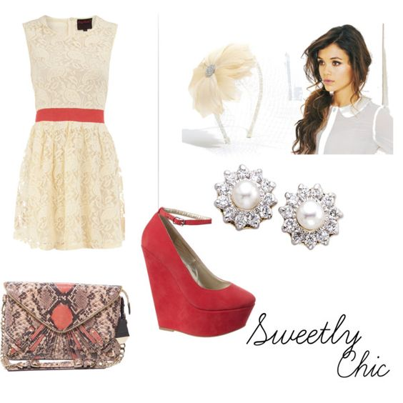 Sweetly Chic, created by essmonay on Polyvore