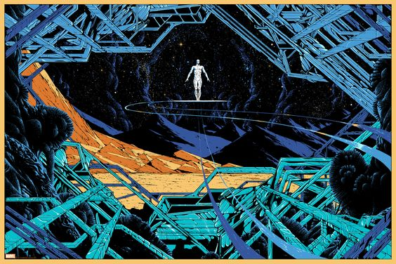 Silver Surfer by Kilian Eng