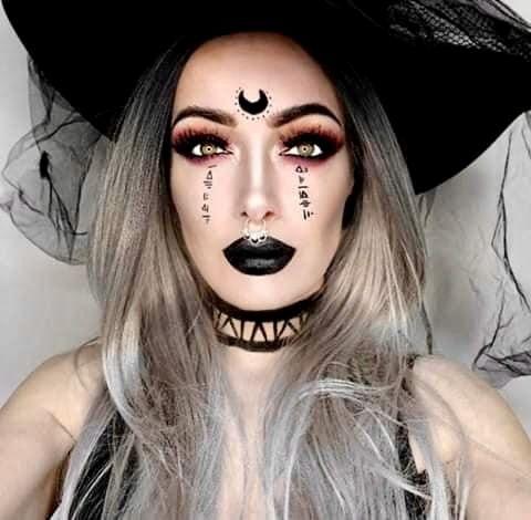 Como Se Maquilla Una Bruja