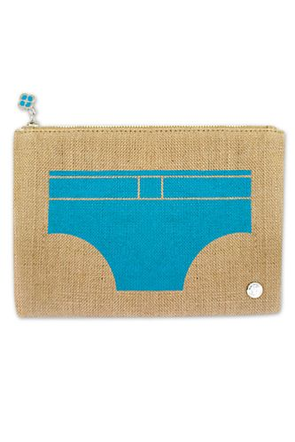 Jute Bag - swim trunks